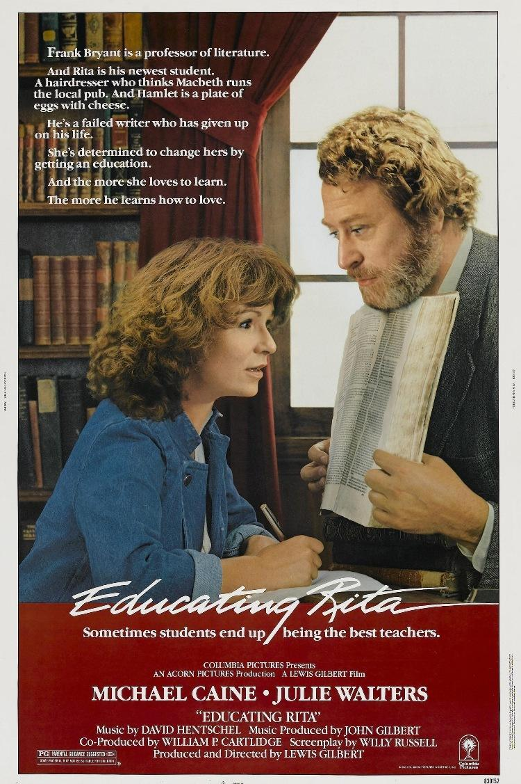 a comparison between willy russells play educating rita and its movie adaptation