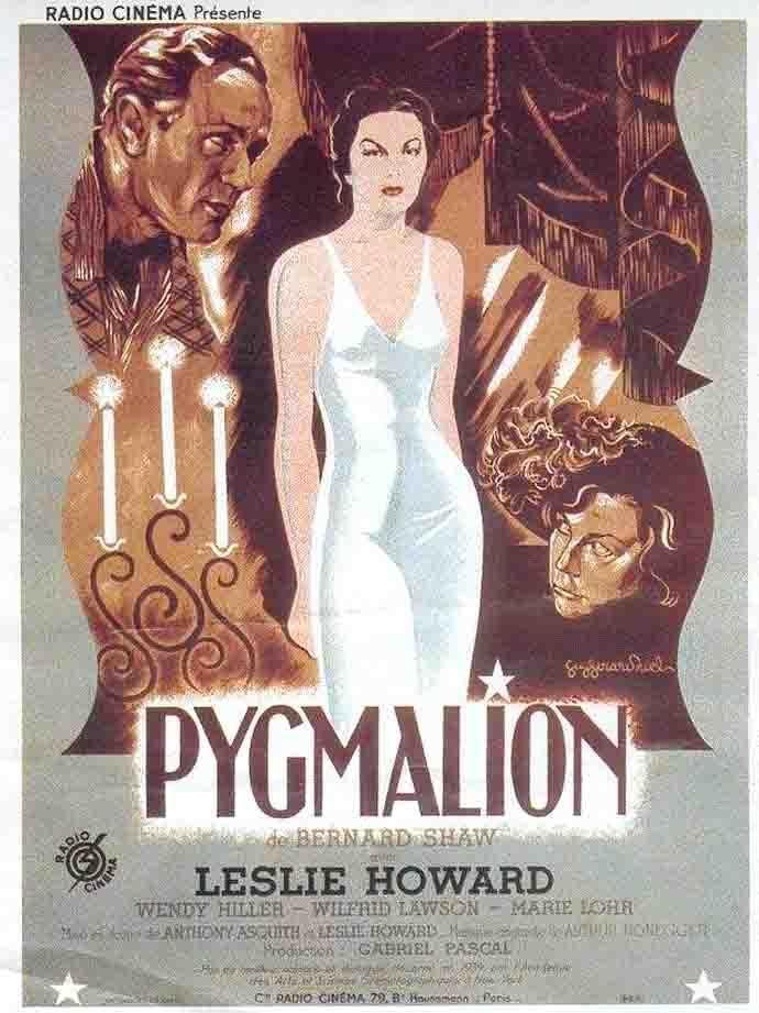 a theme of changing in the book pygmalion