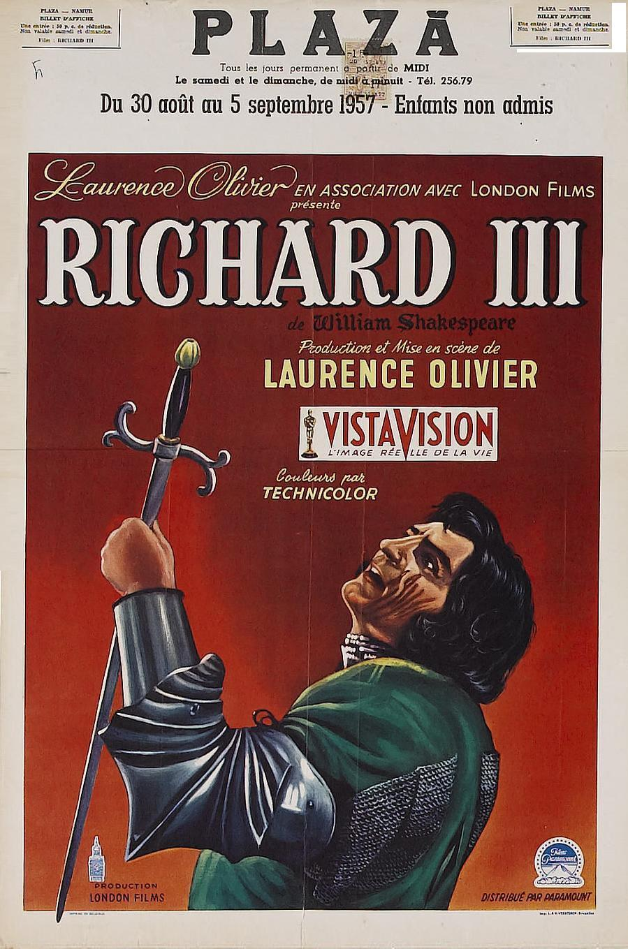 a summary of the film review of richard iii