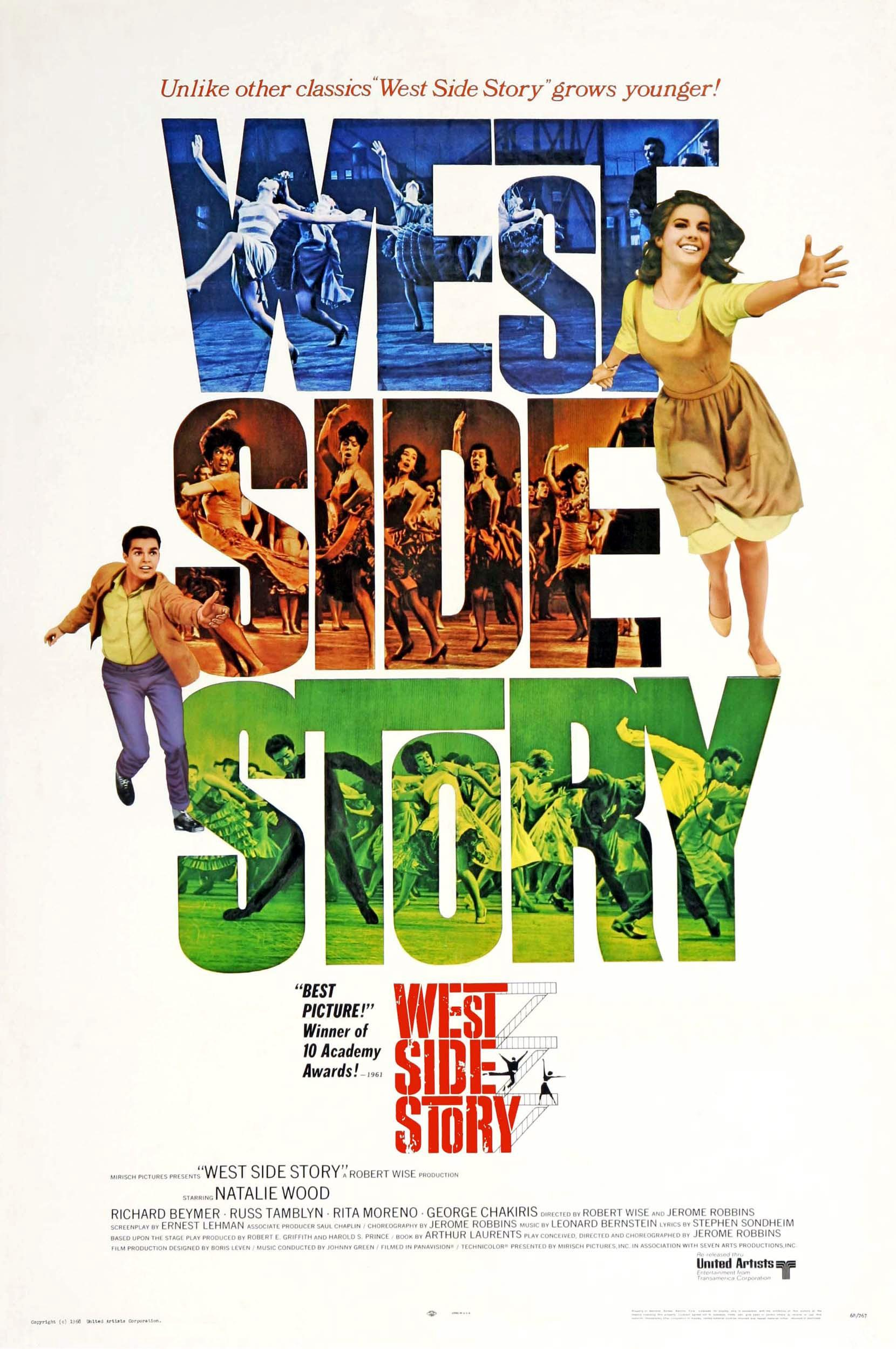 a critical analysis of the west side story a musical by jerome robbins