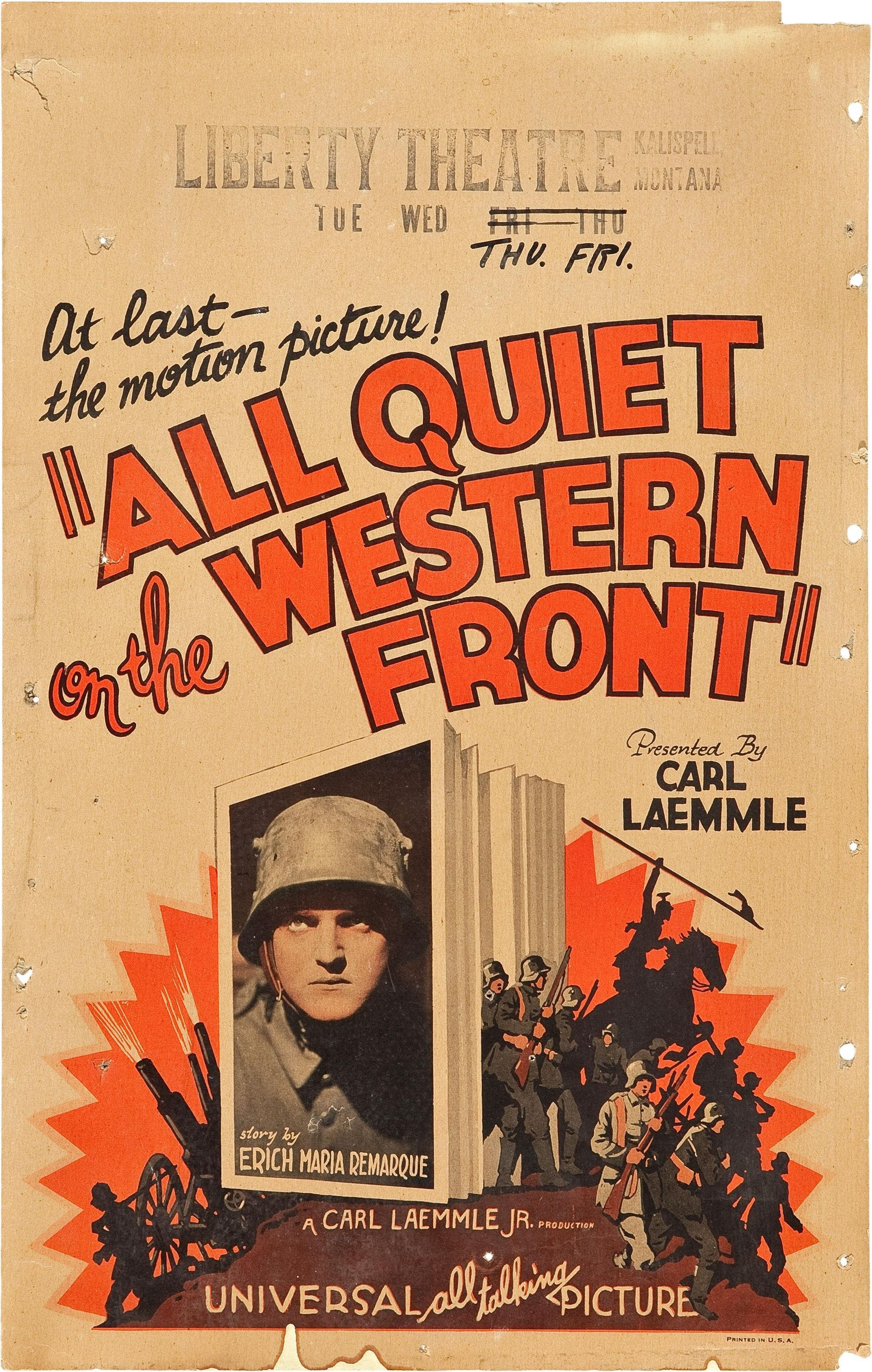 all quiet on the western front nationalism essay