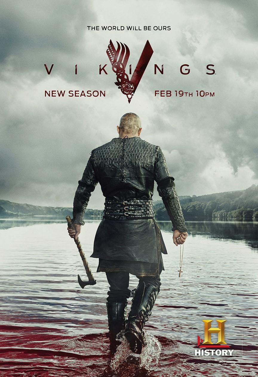 викинги сезон 3 сколько серий