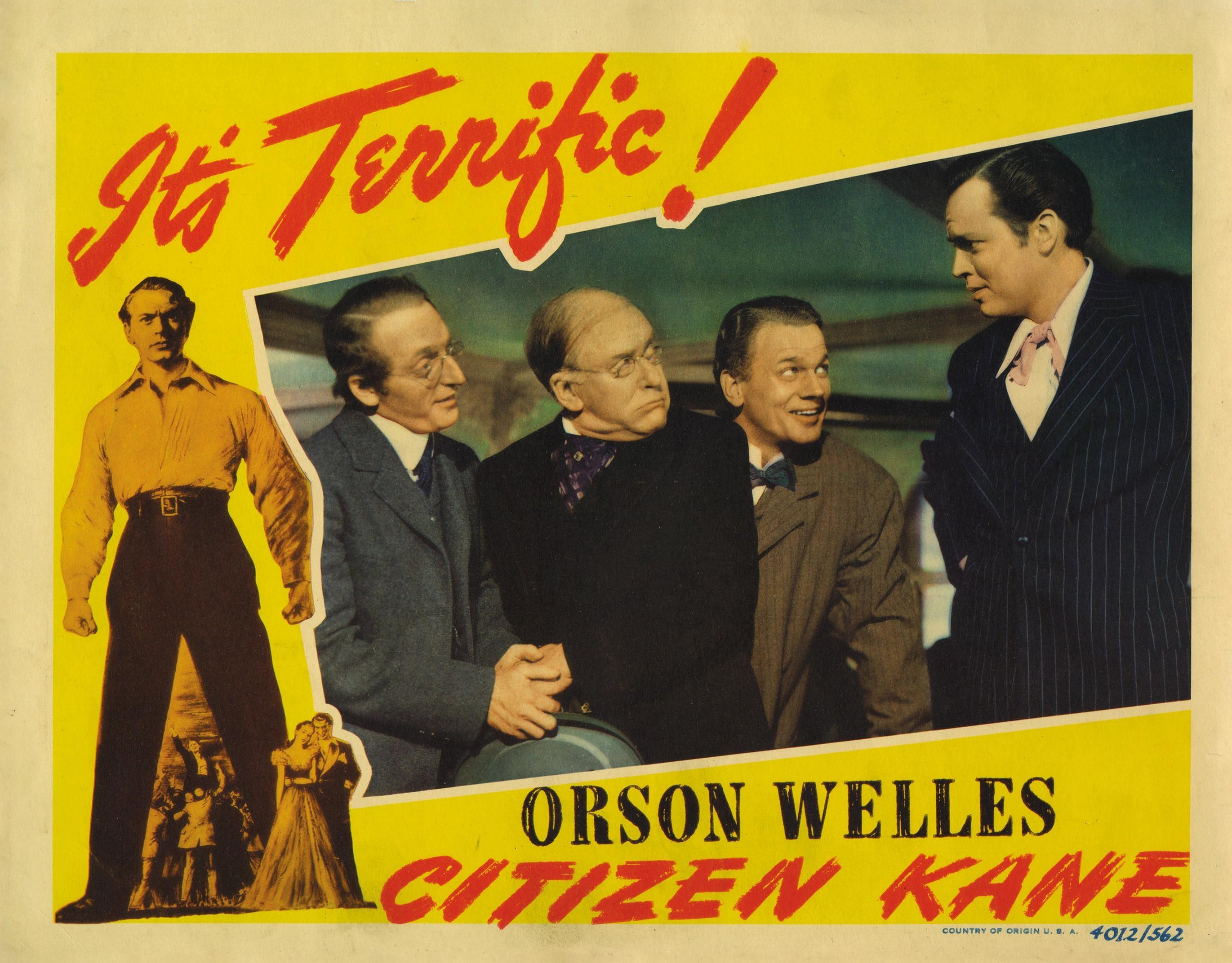 an analysis of citizen kane a film by orson wells