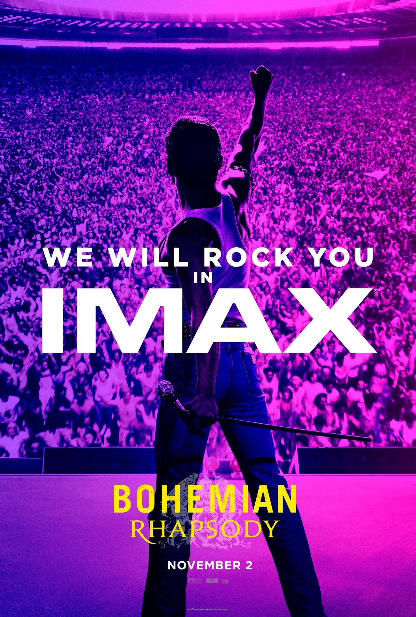 постер 223714 для фильма богемская рапсодия Bohemian Rhapsody