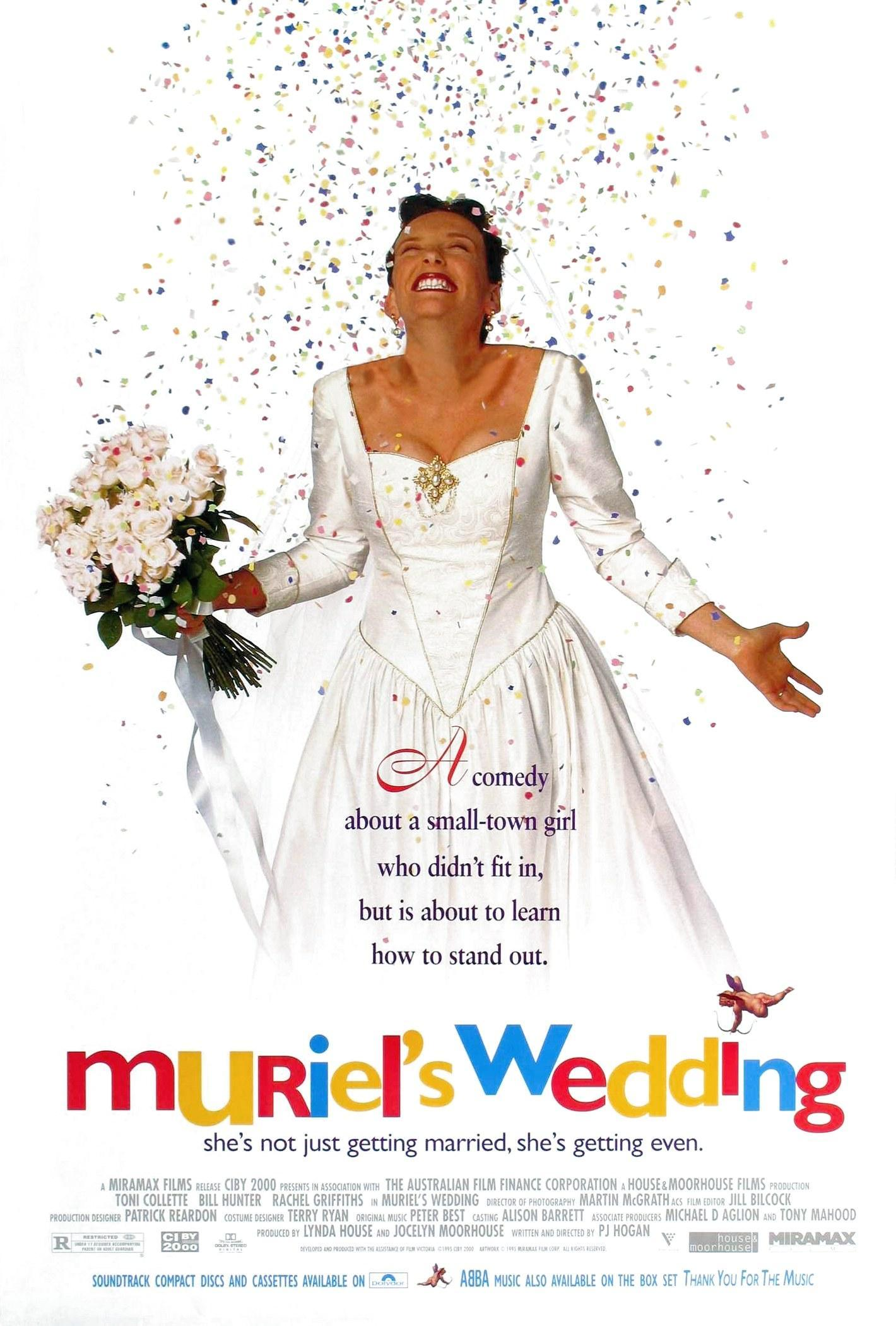 an analysis of muriels motivation of getting married in the movie muriels wedding