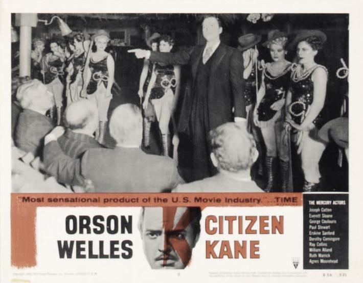 a paper on orson welless movie citizen kane Jeanne moreau appeared in four films that orson welles directed: the trial chimes at midnight the immortal story the deep which is why i wonder why there has been no documentary about miss moreau, focused on her work with welles they also both appeared as actors in tony richardson's the sailor from gibraltar, during a [.