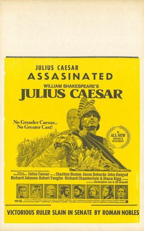 caesars interesting observations of the topic of nobility in shakespeares julius caesar