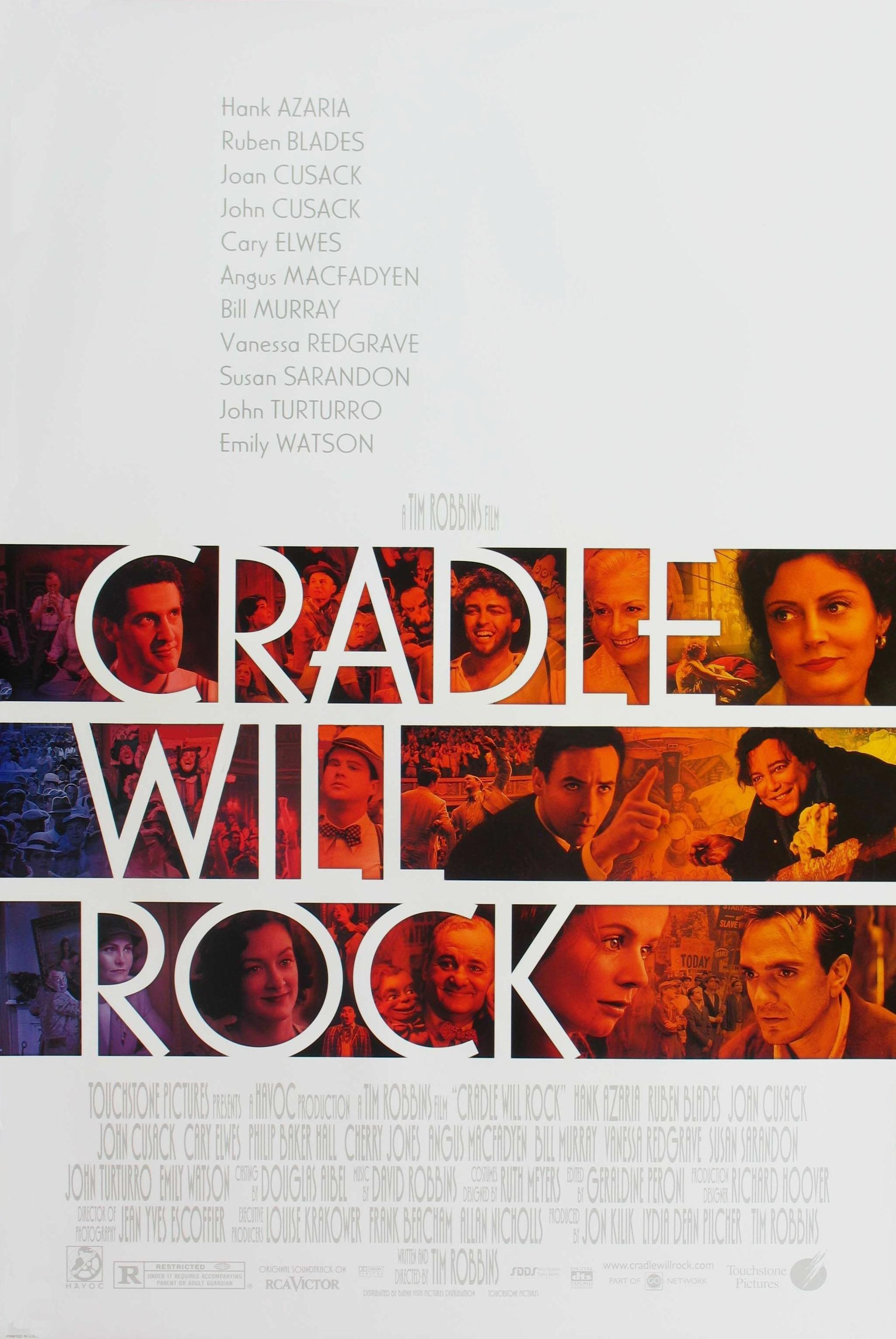 an analysis of the film cradle will rock by tim robbins