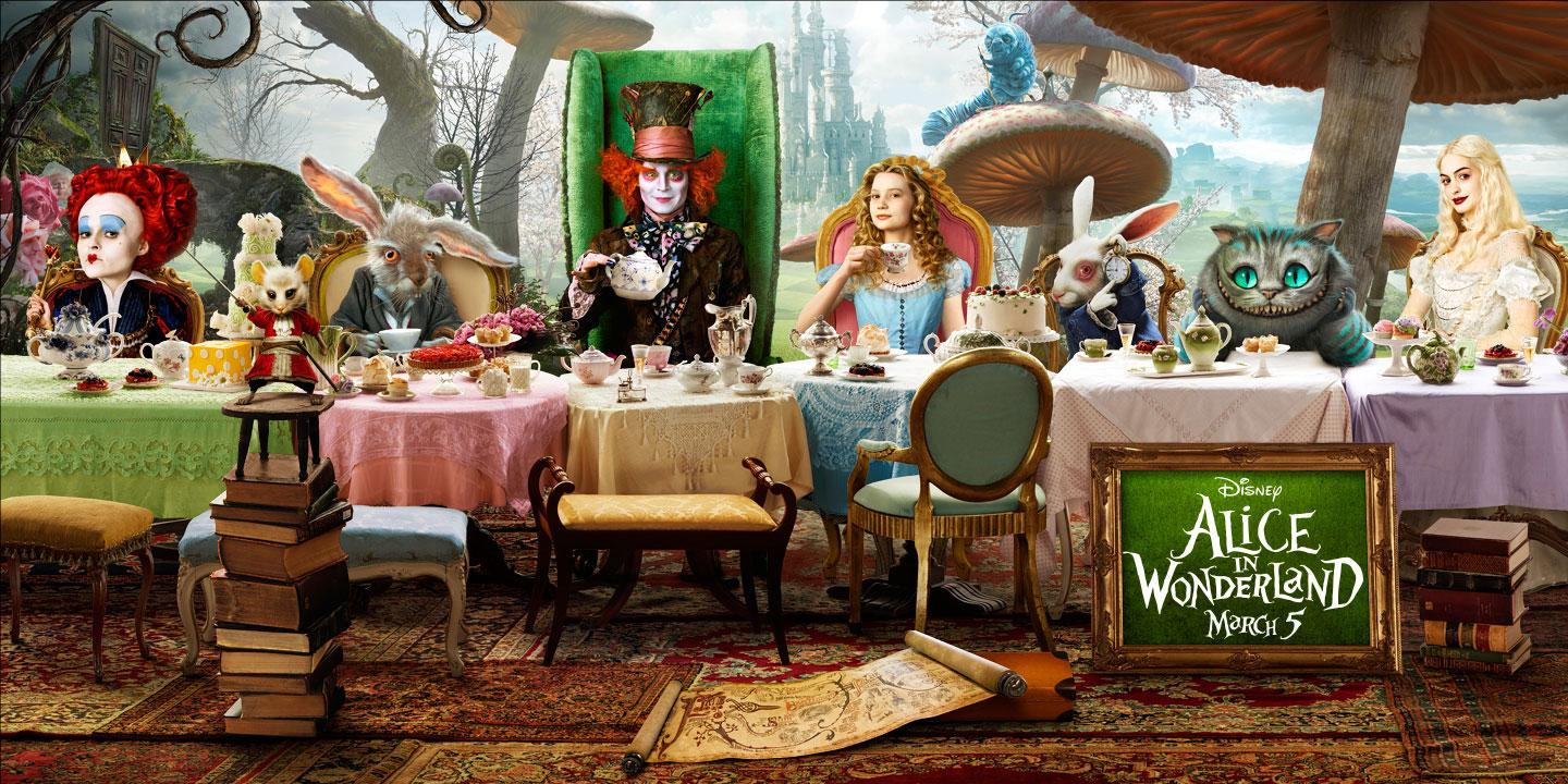 the two unique worlds of imagination in alices adventures in wonderland and the island of dr moreau