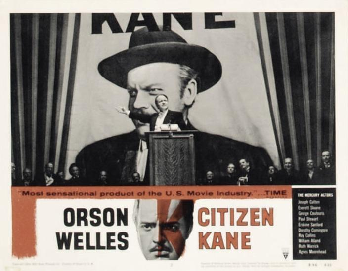 an analysis of the movie citizen kane by orson welles