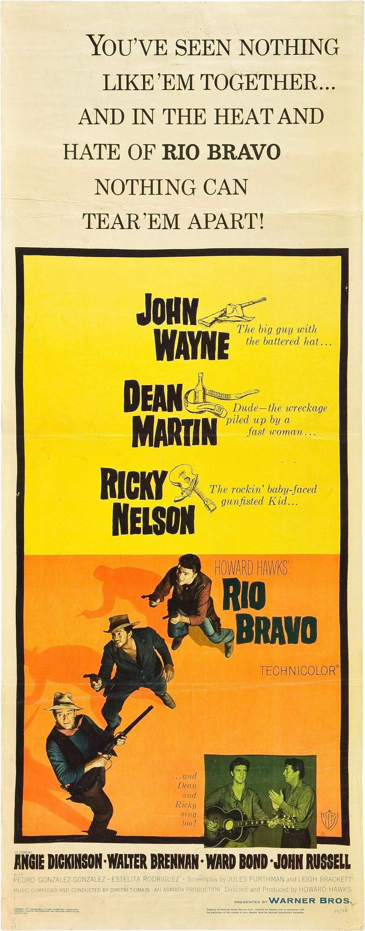 a comparison of spaghetti and macaroni american westerns on the examples of rio bravo by howard hawk