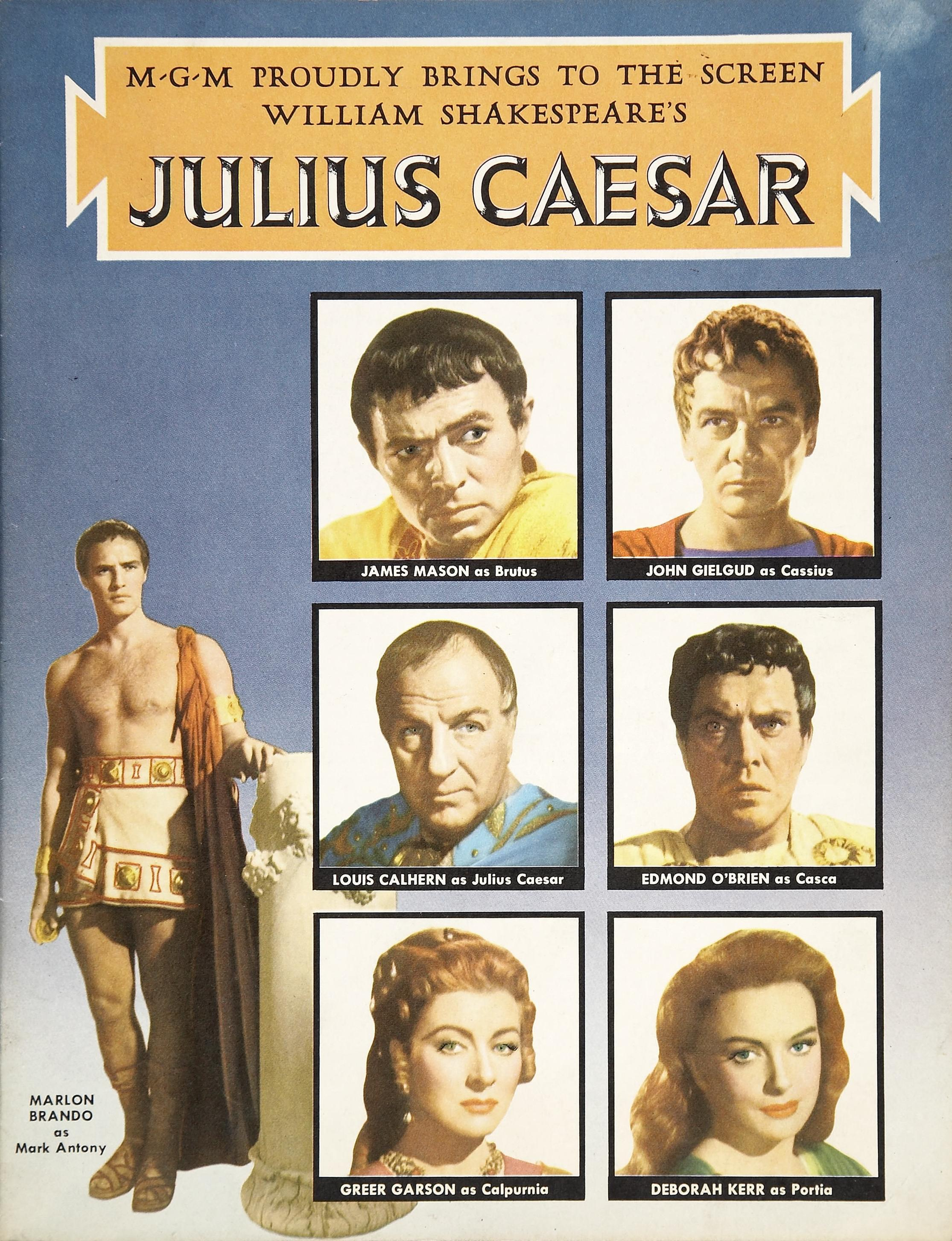 a report on the four conspirators in william shakespeares play julius caesar cassius casca cinna and