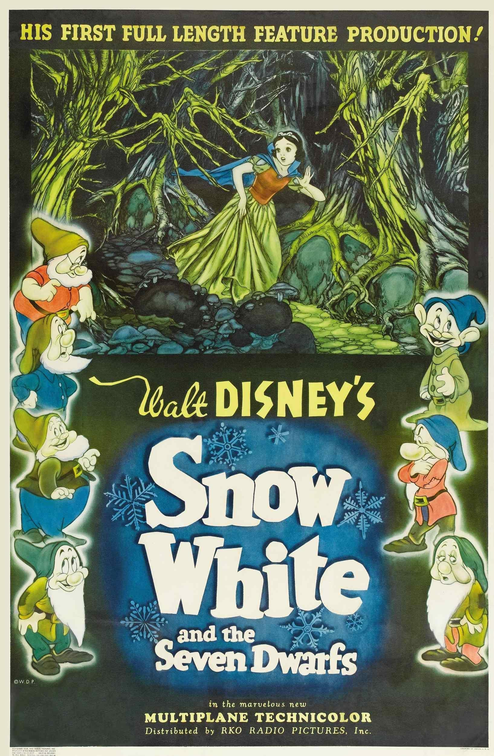 an analysis of the topic of the story of the snow white and the seven dwarfs