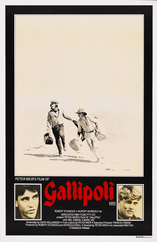film analysis of gallipoli