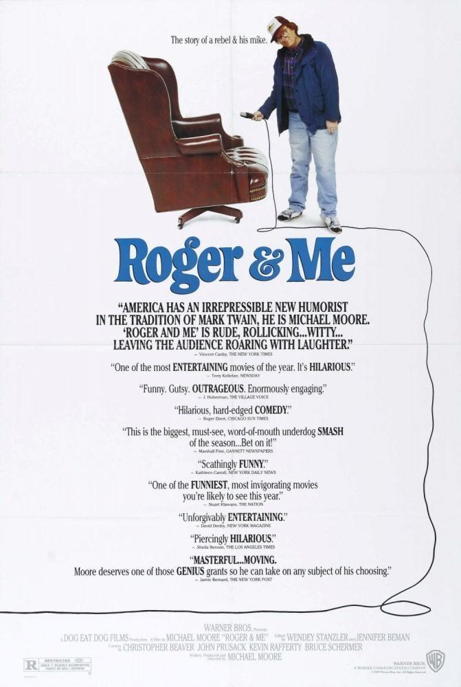 a review of roger me by michael moore