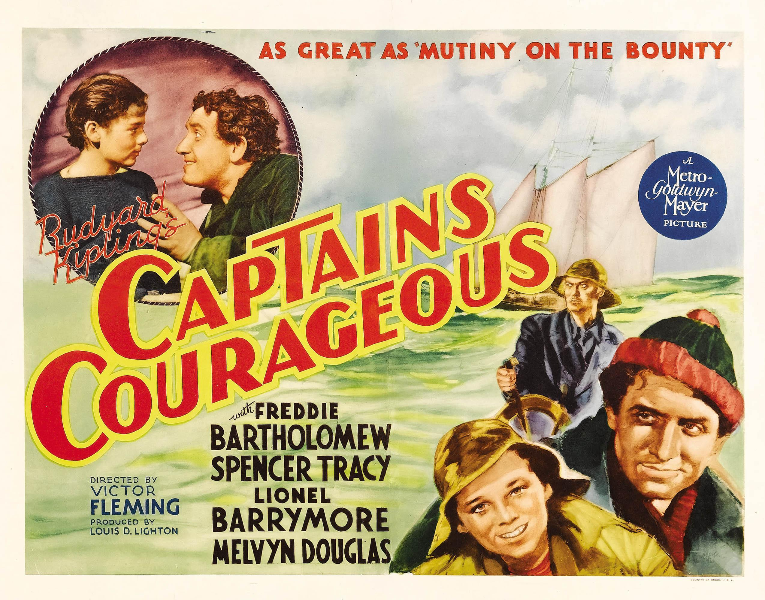 a review of the film captains courageous