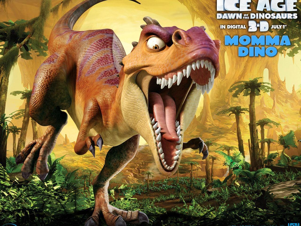 ледниковый период с динозаврами картинки основа