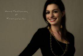 энн хэтэуэй Anne Hathaway обои для рабочего стола 76